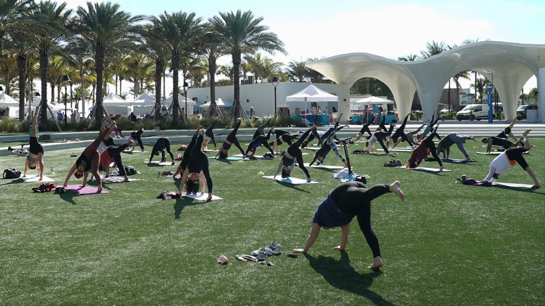Yoga on the Lawn with Lisa Pumper